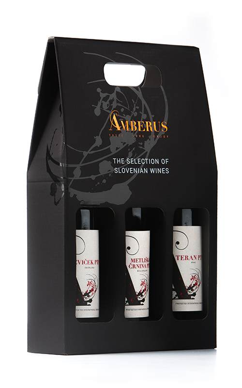 Slovenian 3 Pack Red Wine