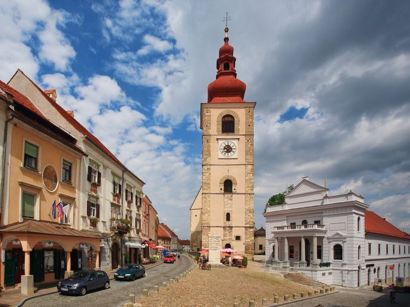 Wine tour to Styria Wine region. Ptuj, the oldest documented settlement in Slovenia.