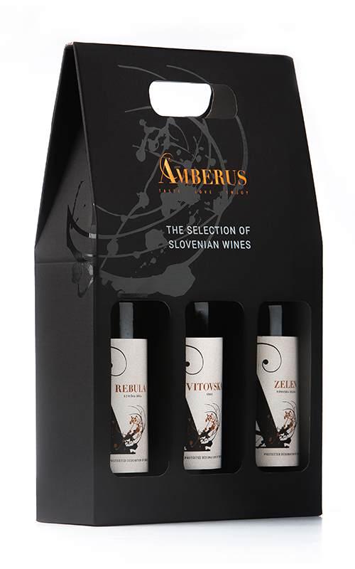 Slovenian 3 Pack White Wine